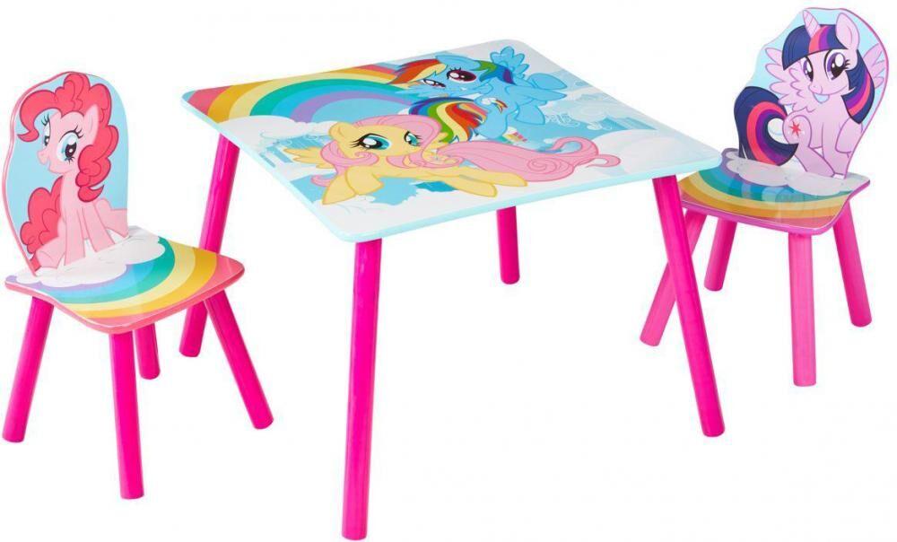 Worlds Apart My Little Pony pöytä ja tuolit - My Little Pony lasten kalusteet 663578