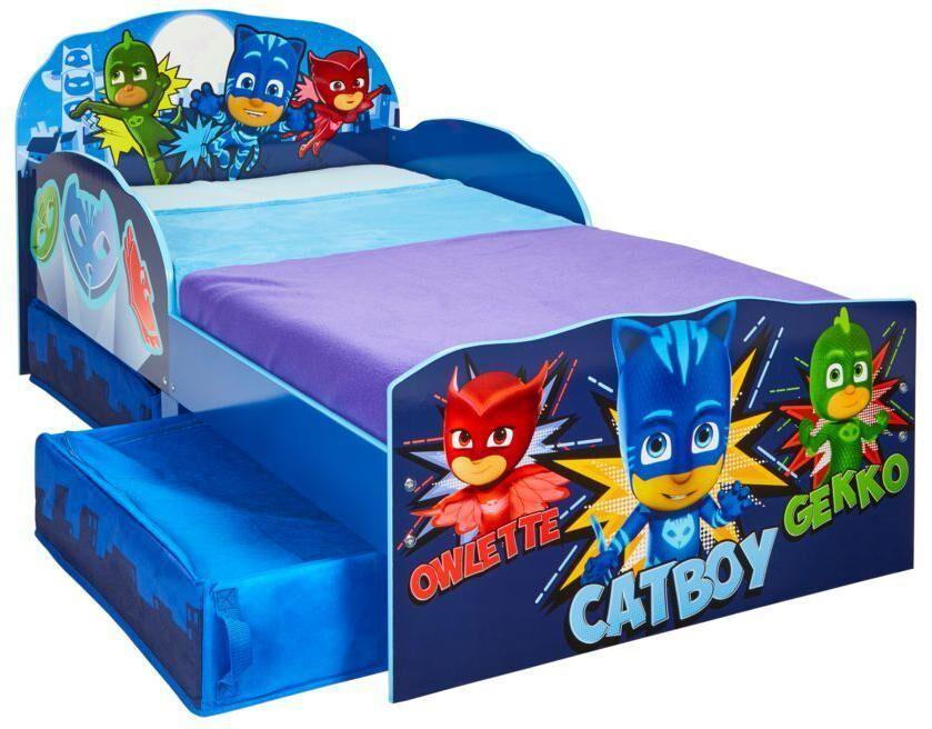 Worlds Apart PJ Masks junior sänky ilman patjaa - Pyjamasankarit lastenkalusteet 666715