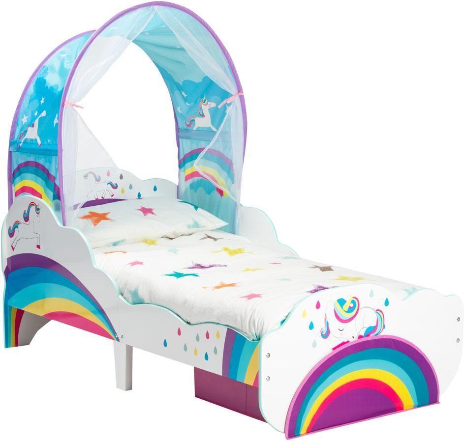 Worlds Apart Yhden kulman sohva jossa patja - Unicorn ja sateenkaari pinnasä