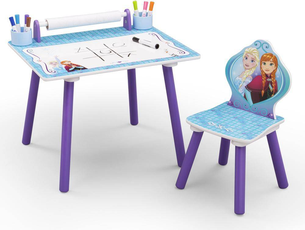 Frozen – huurteinen seikkailu Frozen kirjoituspöytä ja tuoli - Disney Frozen Pöydät ja tuolit 048556