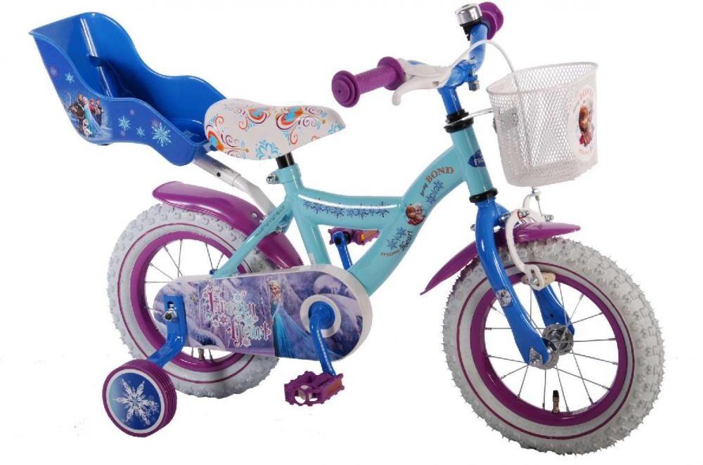 Frozen – huurteinen seikkailu Huurteinen Seikkailu lastenpyörä 12 tuumaa - Disney Frozen pyörä 51261