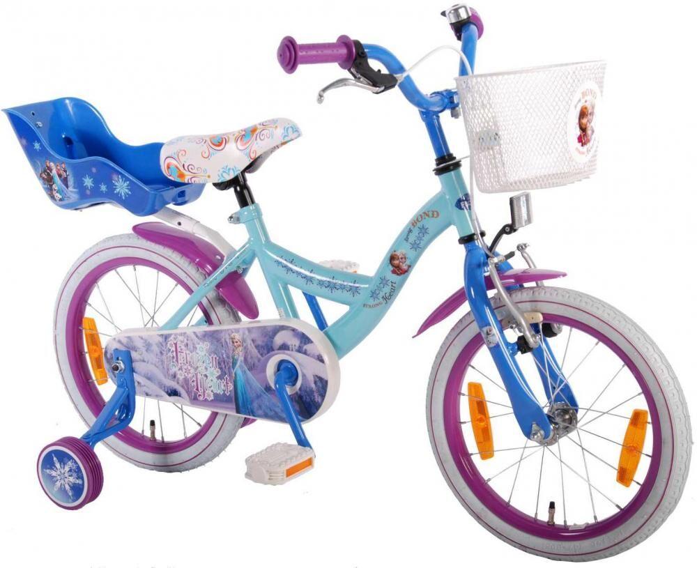 Frozen – huurteinen seikkailu Huurteinen Seikkailu lastenpyörä 16 tuumaa - Disney Frozen pyörä 51661