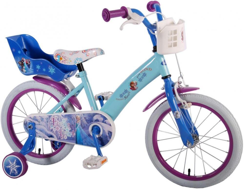 Frozen – huurteinen seikkailu Frozen lastenpyörä 16 tuumaa - Disney Frozen pyörä 51661