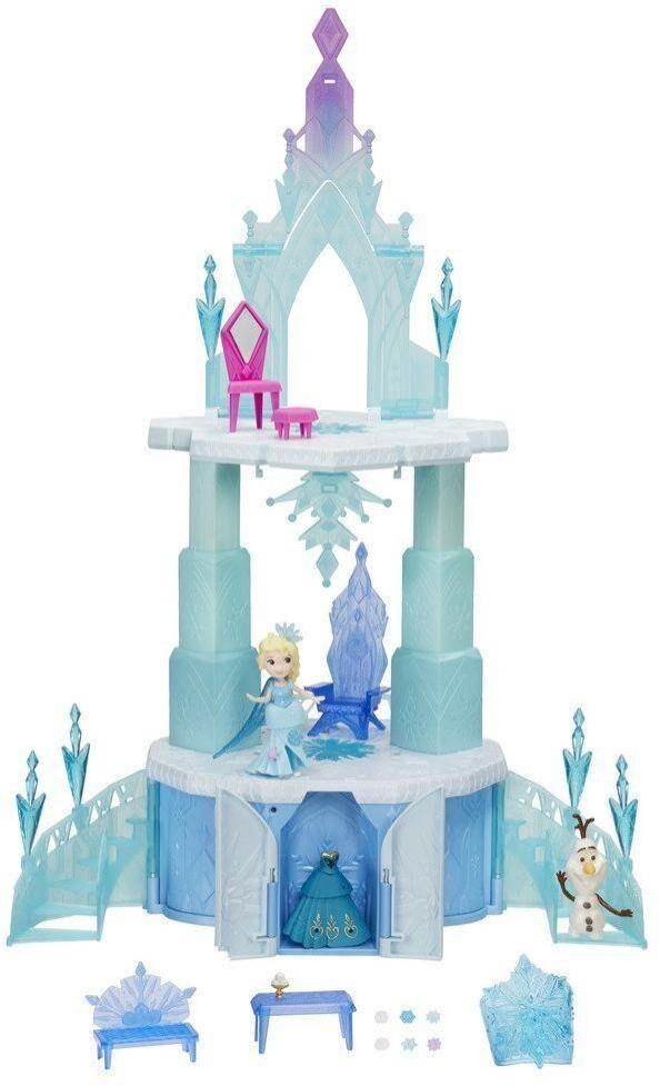Frozen – huurteinen seikkailu Frozen Elsa Maaginen nouseva linna - Disney Frozen nukkekoti B6253