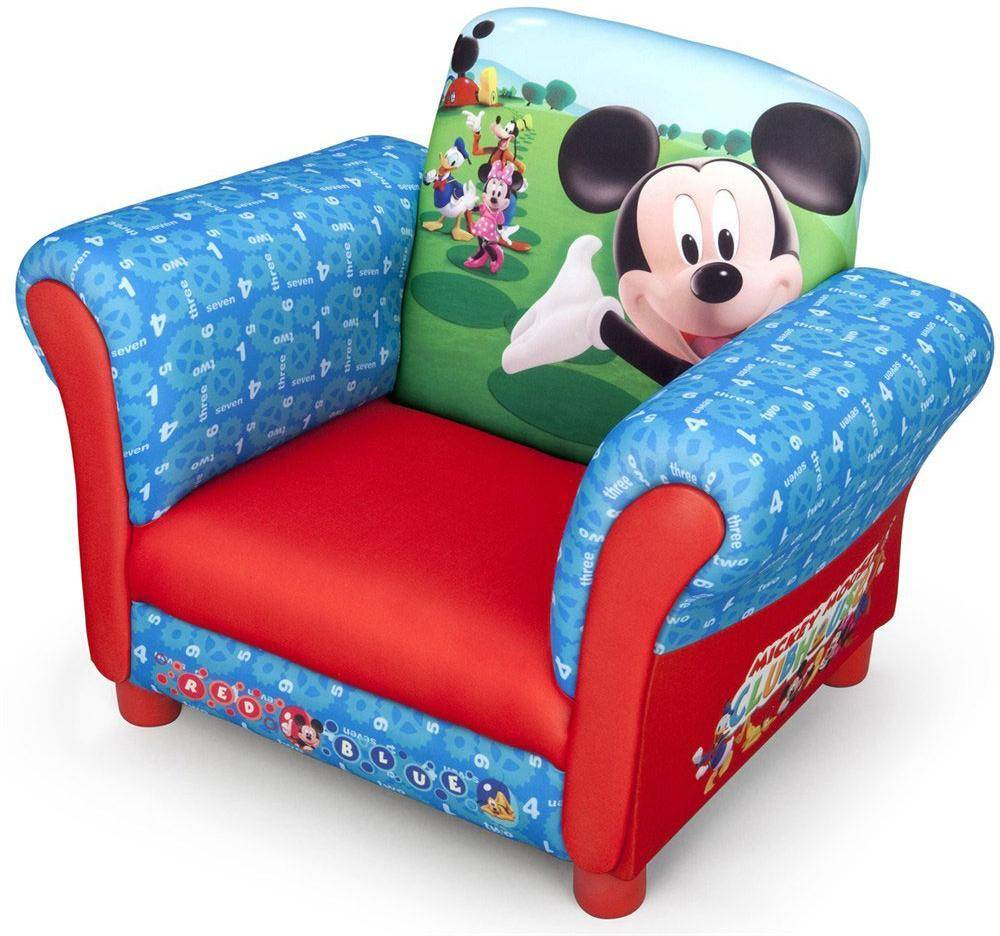 Mikki Hiiri Nojatuoli - Mickey Mouse Lasten Huonekalut 016395