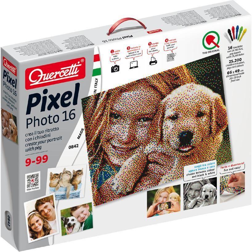Quercetti PixelPhoto 24000 nuppihelmeä - Quercetti 804