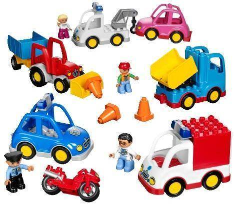 Lego Ajoneuvot - Lego Duplo 45006