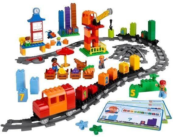 Lego Jättijunarata - Lego Duplo 45008