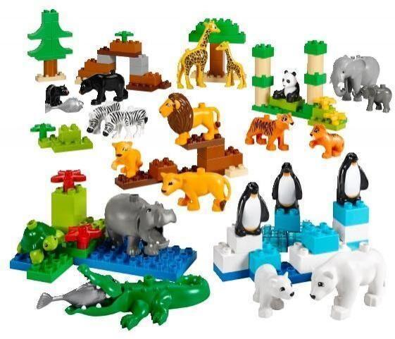 Lego Villieläimet - Lego Duplo 45011