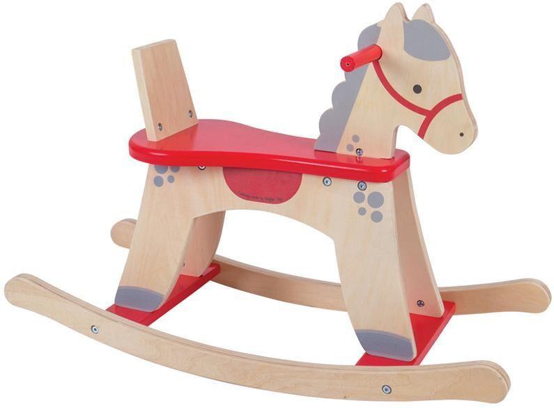 Bigjigs Swing hevonen punainen - Bigjigs Swing Horse 172308