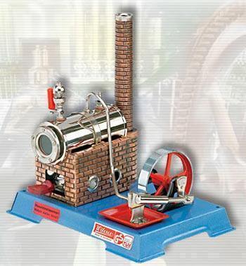Wilesco Höyrykone D06 kattila 135 ccm - Wilesco dampmaskiner D06