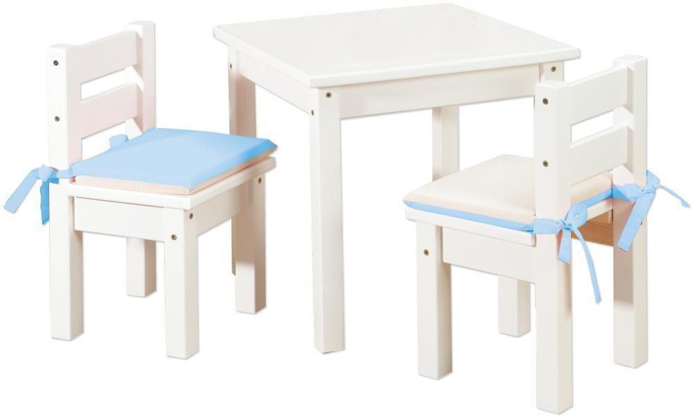 Hoppekids Tuolit ja Pöytä, Valkoinen - Lasten pöytä / Lasten huonekalut 101404