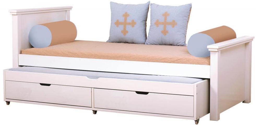 Hoppekids Deluxe sänky ja lisäsänky 90 x 200 cm - Hoppekids Fairytale Knight Sänky 102905