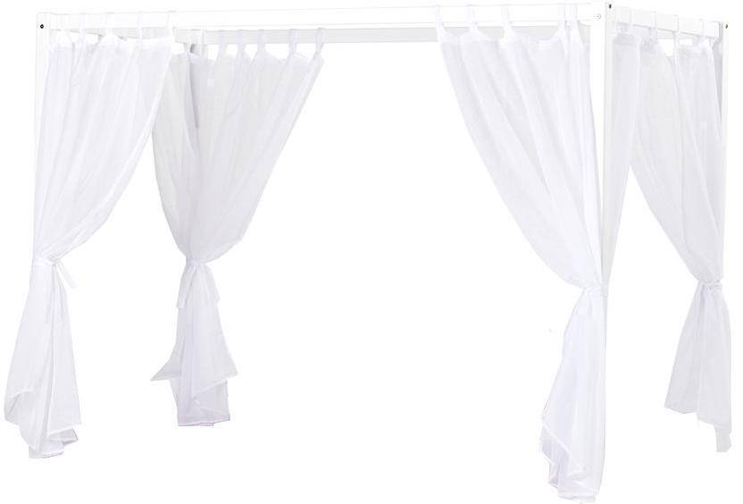 Hoppekids Pylvässängyn verhot 70x190/90x200 cm - Hoppekids sängyn tekstiilit 50009D