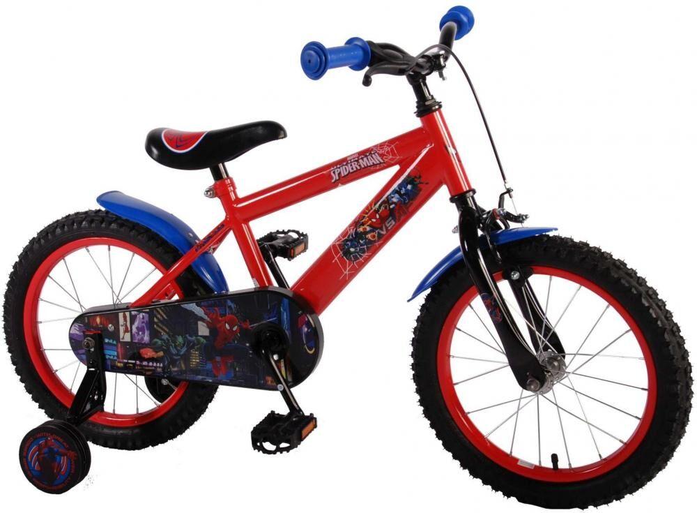 Spiderman Spider-man lasten polkupyörä 16 tuumaa - Spiderman pyörä 41654-CH
