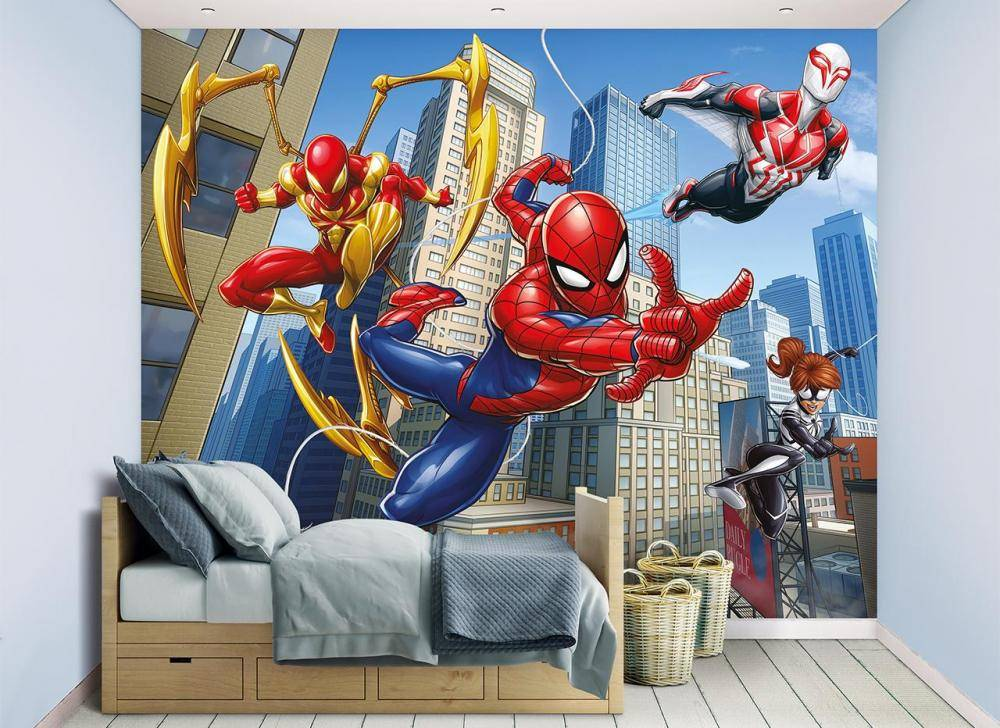 Spiderman Spider Man tapetti - Walltastic Spiderman 45330