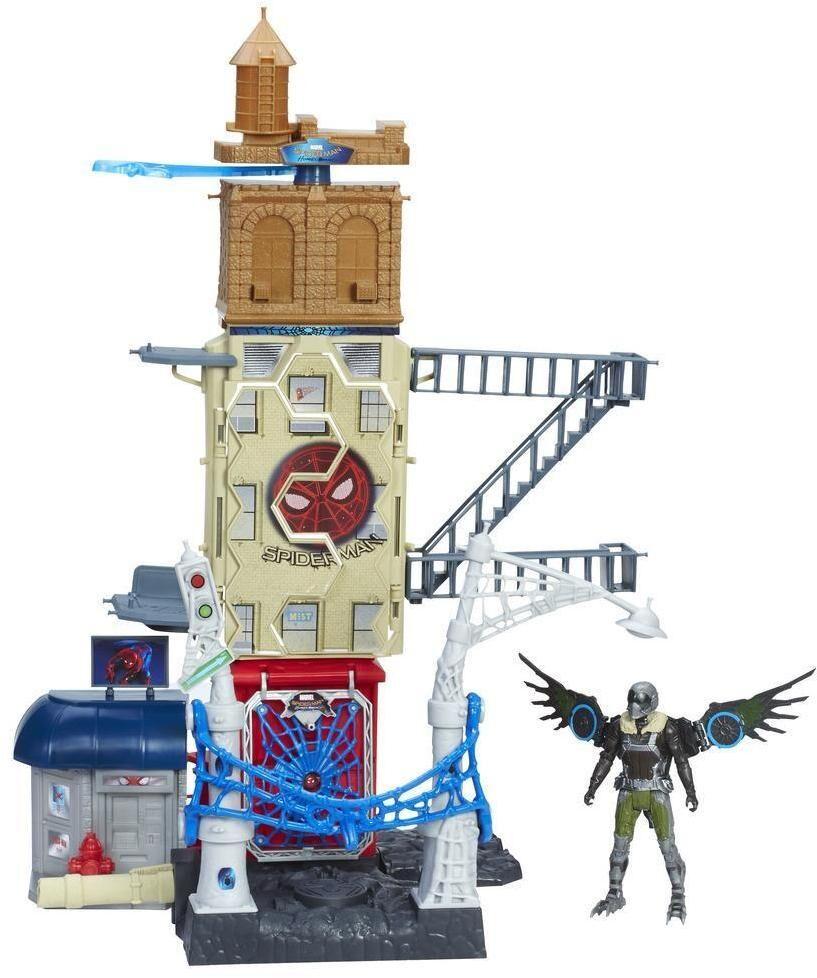 Spiderman vs Vulture leikkisetti 56cm - Spiderman Homecoming setti B9692