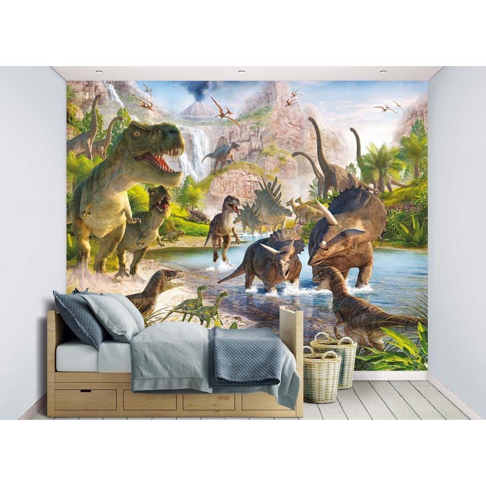 Walltastic Dinosaurus tapetti - Walltastic Dinosaurus 41745