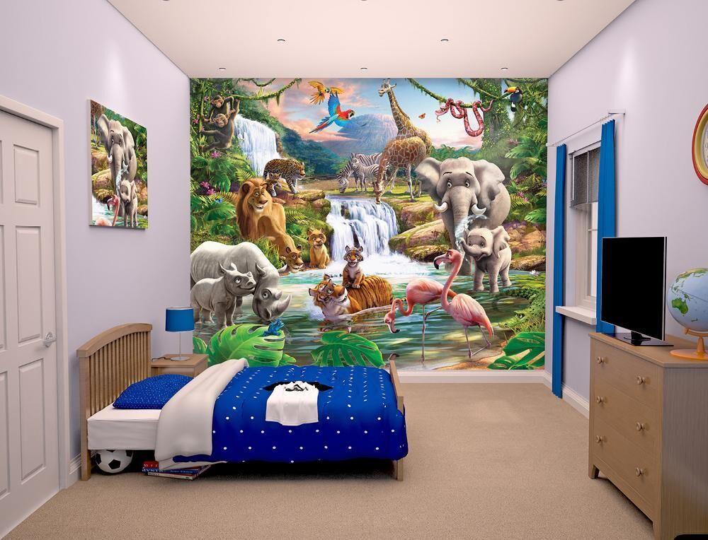 Walltastic Viidakkoseikkailu tapetti - Walltastic Jungle 41776