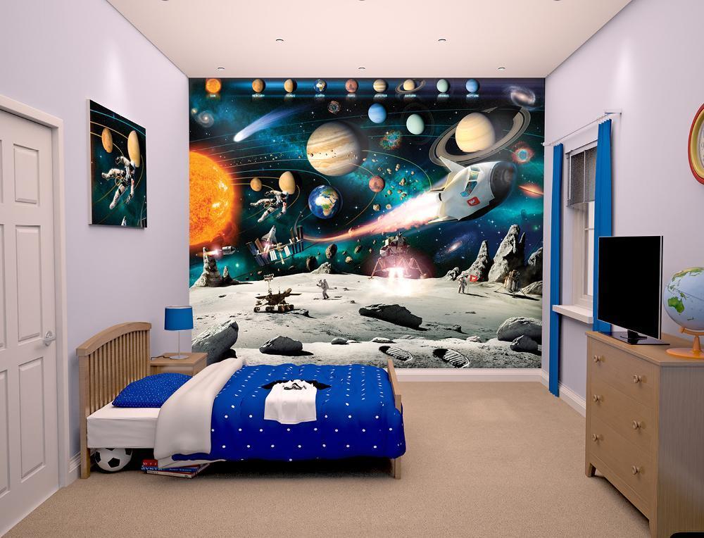Walltastic Avaruusseikkailu tapetti - Walltastic avaruus 41837