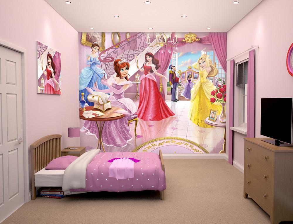 Walltastic Prinsessat Tapetti - Walltastic keijuprinsessat 43183