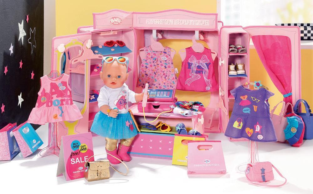 Baby Born Baby syntynyt Fashion Store - Baby Born tarvikkeet 824757
