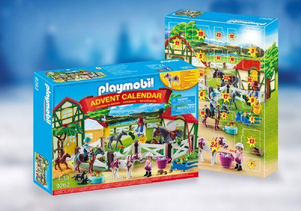 Playmobil Joulukalenteri Hevostila - Playmobil joulukalenteri 9262