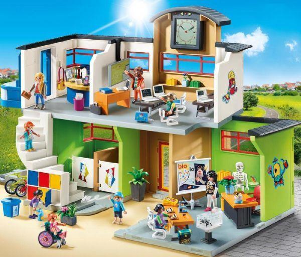 Playmobil Kalustettu koulurakennus - Playmobil City 9453