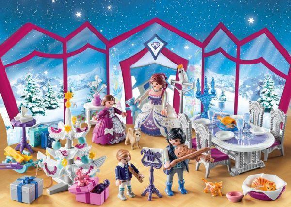 Playmobil Joulukalenteri joulutanssit kristallisalissa - Playmobil Joulukalenterit 9485