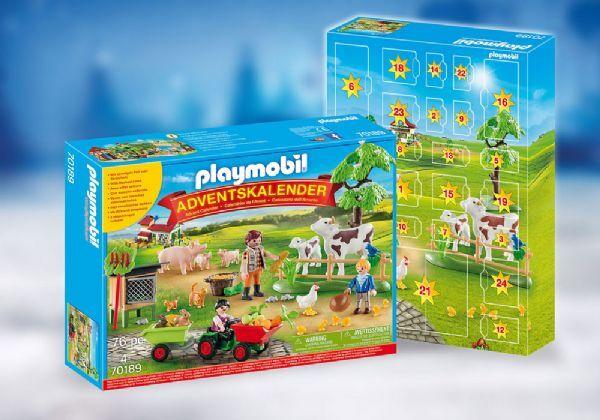 Playmobil Joulukalenteri Maatilalla - Playmobil Jul 70189