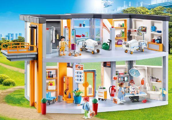 Playmobil Suuri sairaala ja huonekalut - Playmobil City Life 70190