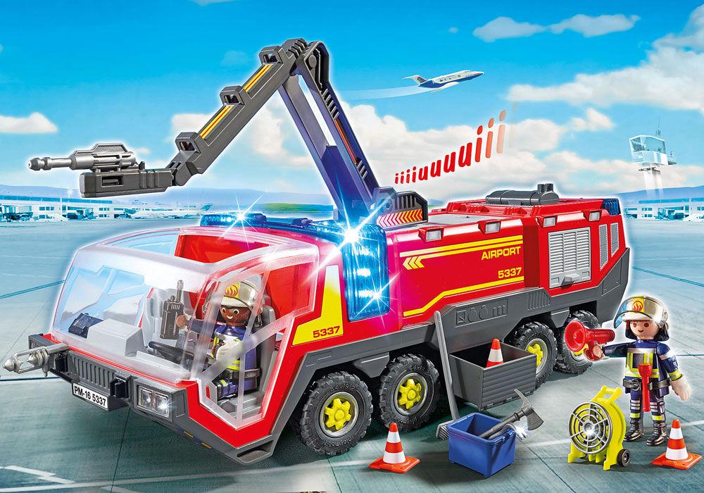 Playmobil Paloauto valolla ja äänellä - Playmobil 5337