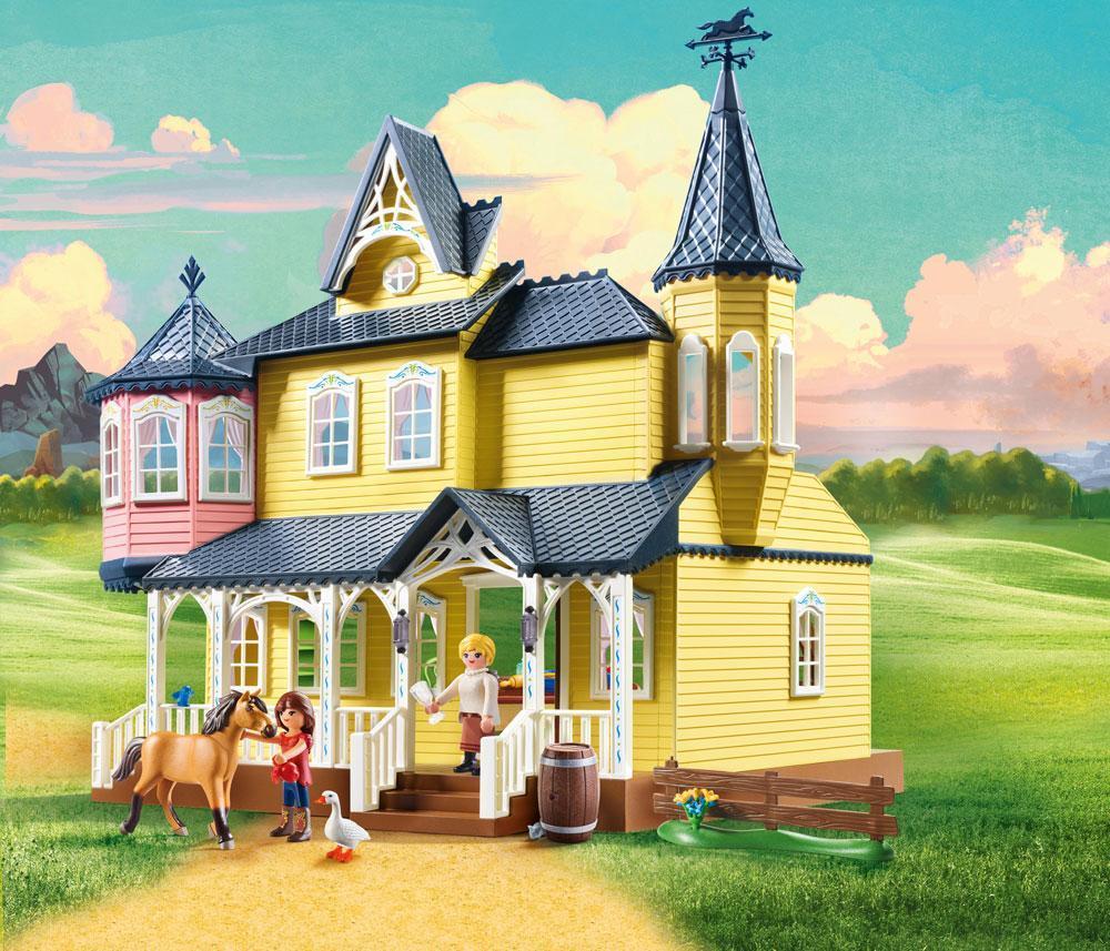 Playmobil Luckyn Onnen Koti - Playmobil Riding 9475