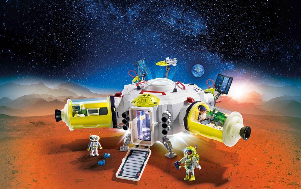 Playmobil Mars Station - Playmobil Space 9487