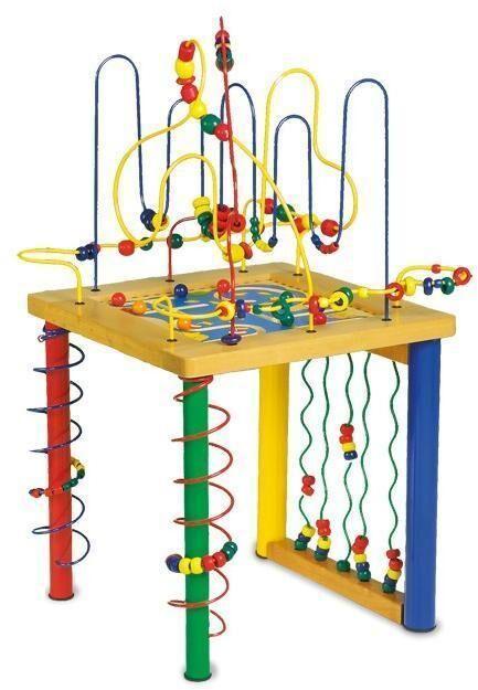 Sekalaiset Iso Puuhapöytä - Vauvan Lelut 4690