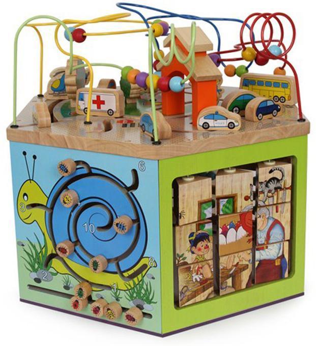 Sekalaiset Iso Puuhakuutio - Vauvojen lelut 6094