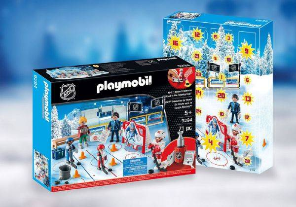 Playmobil Joulukalenteri NHL-tie Stanley - Playmobil heinäkuu 9294