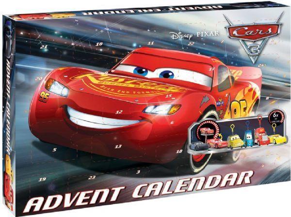 Cars Disney Autot joulukalenteri 2017 - Salama McQueen joulukalenteri 91008
