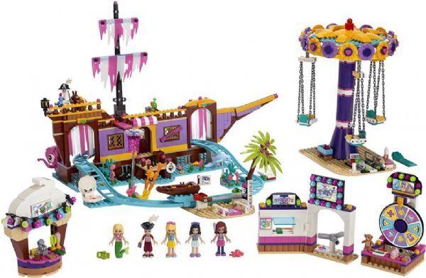 Lego Heartlake Cityn huvipuistolaituri - Lego Friends 41375