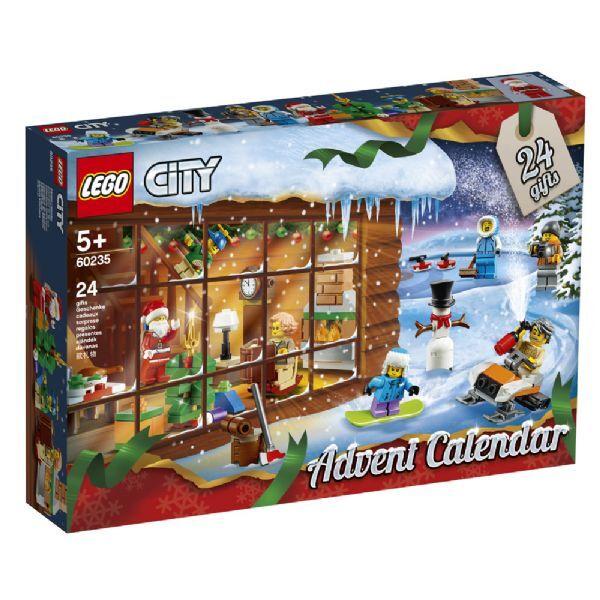 Lego City Joulukalenteri 2019 - Lego City julekalender 60235