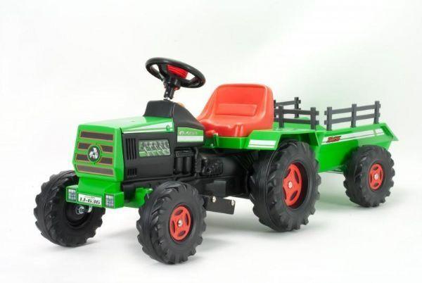 Injusa Traktori ja perävaunu sähköauto 6V - Injusa Sähköauto 636