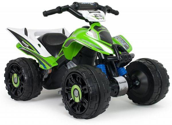 Injusa Kawasaki Quad 12V - Sähköauto lapselle 66055