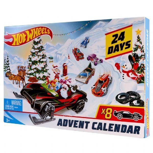 Hot Wheels Joulukalenteri 2019 - Mattel Car Lanes FYN46