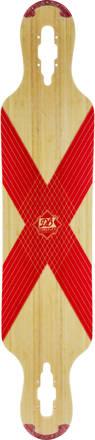 DB Longboards Longboard Dekki DB Coreflex Compound (Punainen)