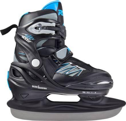 Roces Kids Ice Skates Roces Moody Ice 2.0 Sdettv (Black-astro Blue)