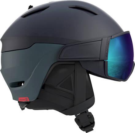 Salomon Laskettelukypr Salomon Driver Visor - Lens (Musta/Sininen)