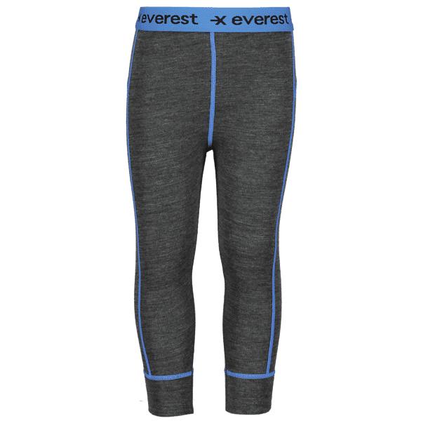 Image of Everest K Wool Uw Pant Lumilautailuvaatteet DARK GREY/BLUE (Sizes: 86-92)