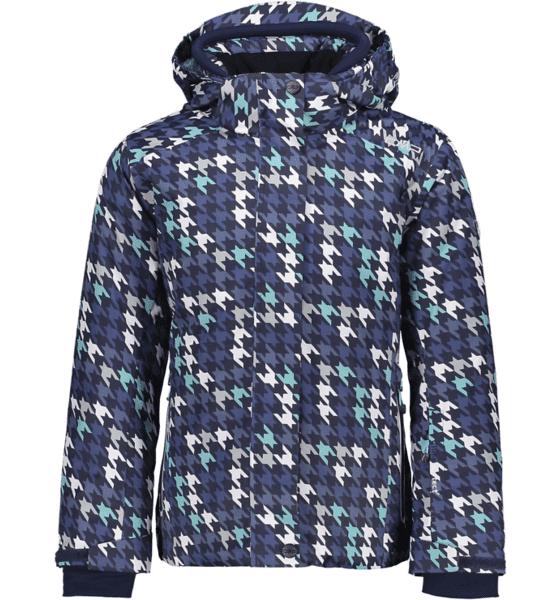 Cmp G Twill Jacket Lasketteluvaatteet NAVY/AQUAMARINA (Sizes: 152)