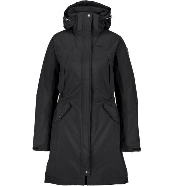 Tenson W Lyra Jacket Talvitakit BLACK (Sizes: 40)