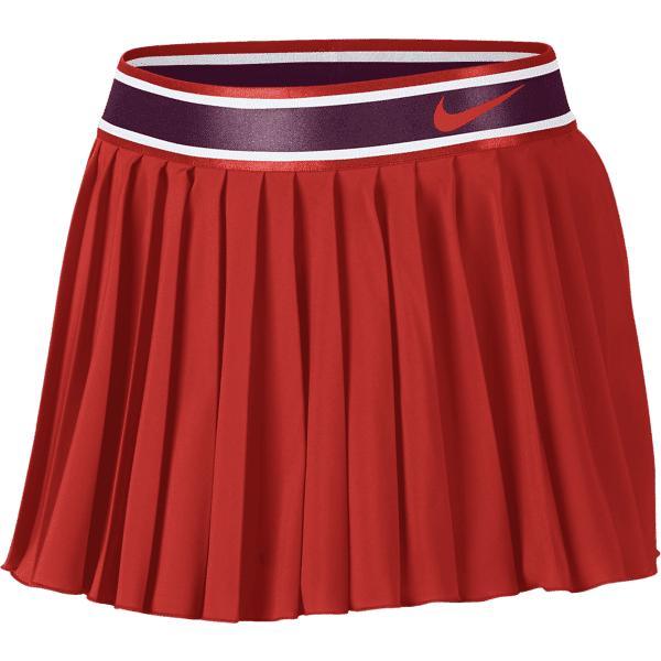 Nike G Nk Vict Skirt J Tennisvaatteet HABANERO RED/HABAN (Sizes: JR L)